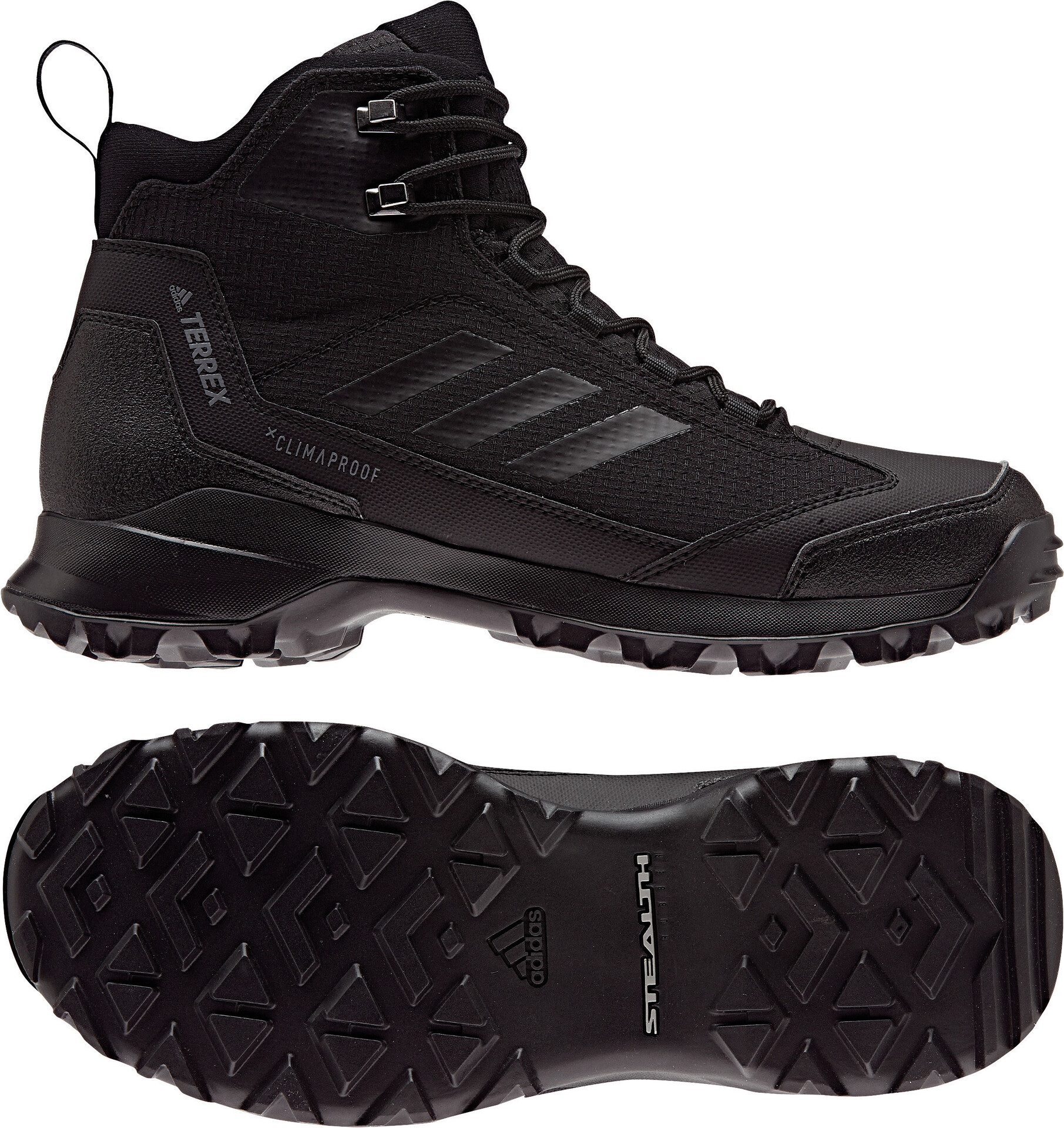 adidas TERREX Heron Chaussures hiver montantes Homme, core black